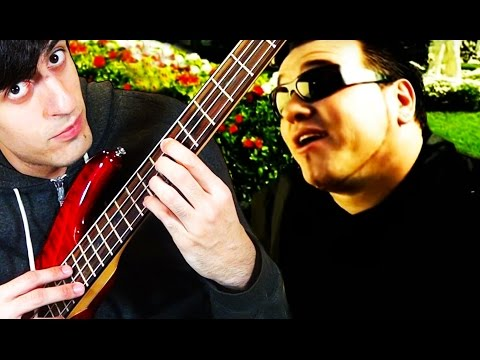"""""""All Star"""" by Smash Mouth but it's on bass guitar"""