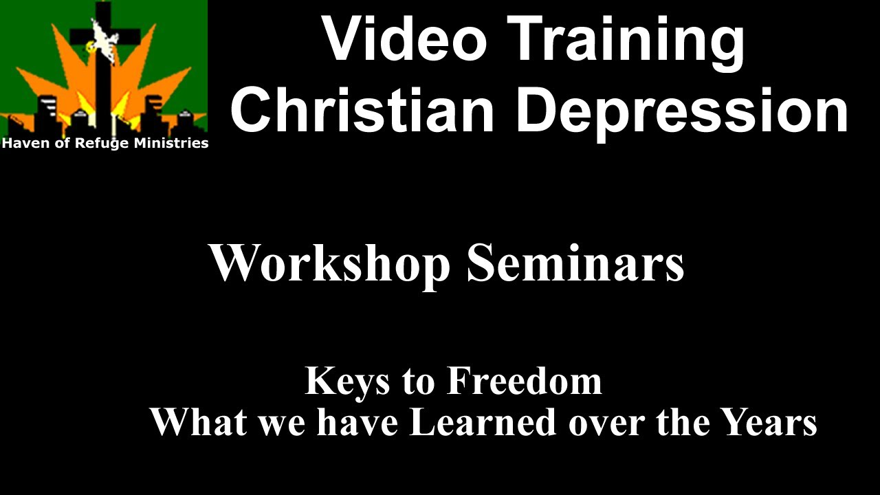 Christian Depression and Anxiety Workshop