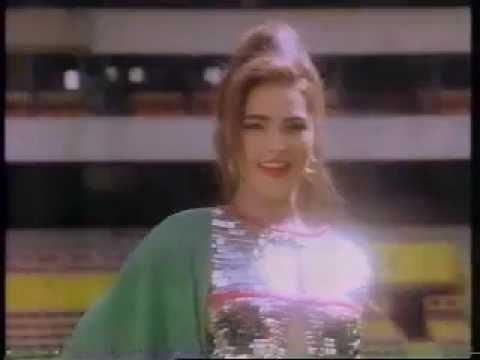 Promocional Canal de las Estrellas Eugenia Cauduro 90s México