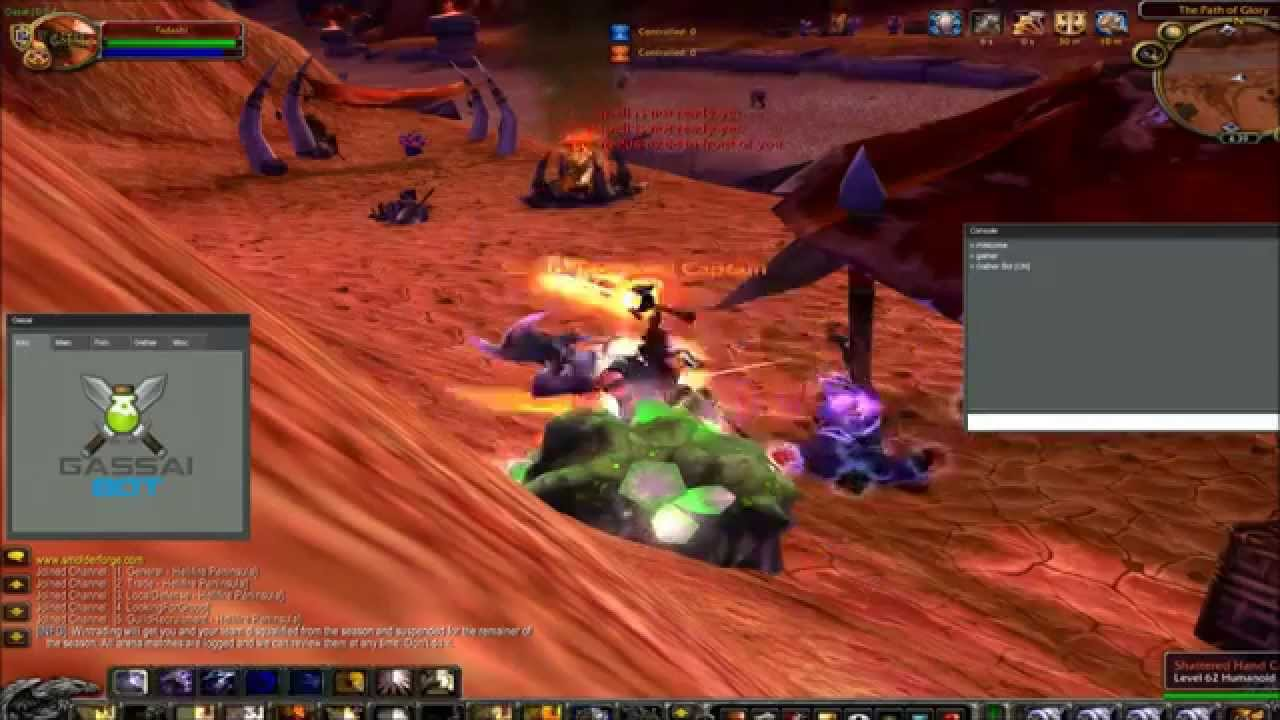 how to run scripts in wow