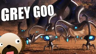 Goo VS Beta GIANT NANO BLOBS VS SOUTH AFRICAN ALIENS - Grey Goo Gameplay