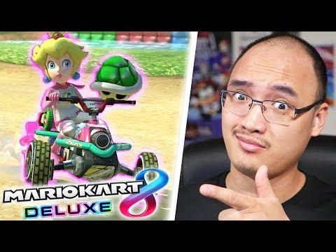 PEACH EST LA BEST PRINCESSE ! | Mario Kart 8 Deluxe