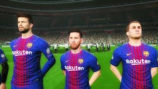 Sporting Lisbon vs Barcelona UCL 27/09/2017 Gameplay