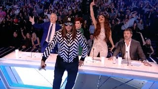 Honey G Does The Mannequin Challenge On Stage!   Live Show 8 Full   The X Factor UK 2016