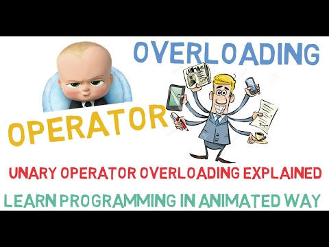 UNARY OPERATOR OVERLOADING IN C++ ( UNARY OPERATOR OVERLOADING EXPLAINED) - 27