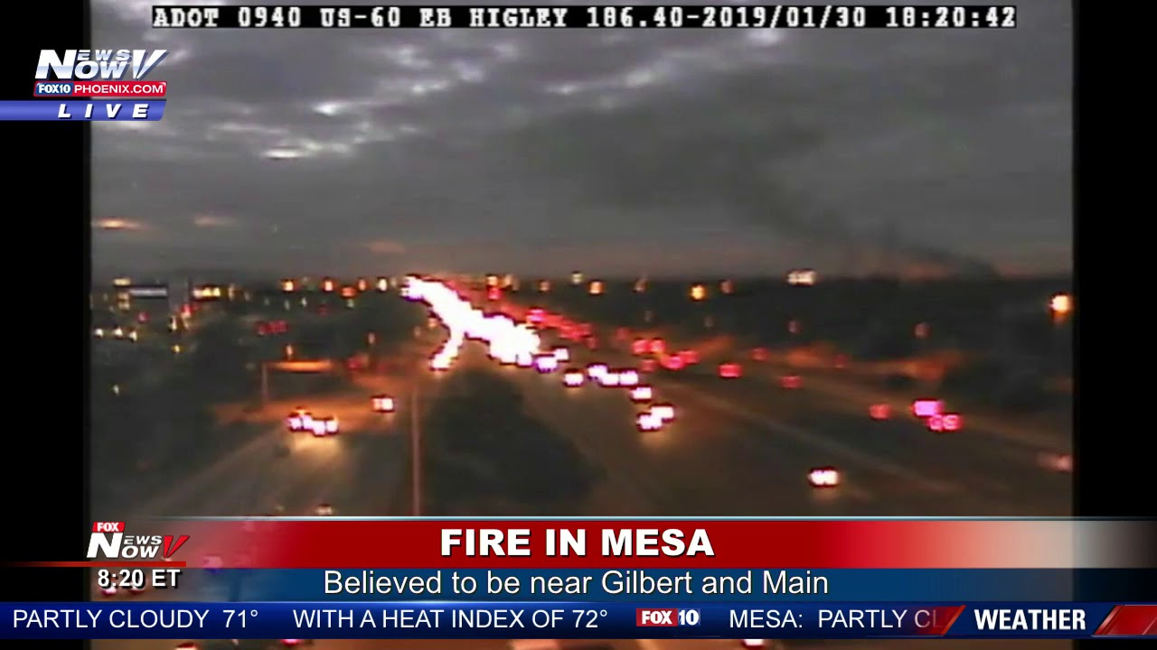 BREAKING: Fire Crews from across the East Valley Respond to 3-Alarm Fire at  Mesa Sales (FNN)