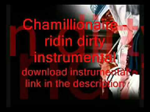 Chamillionaire - ridin dirty instrumental Mp3 download link