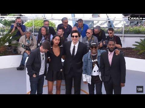 Photocall du film Blackkklansman de Spike Lee - Cannes 2018