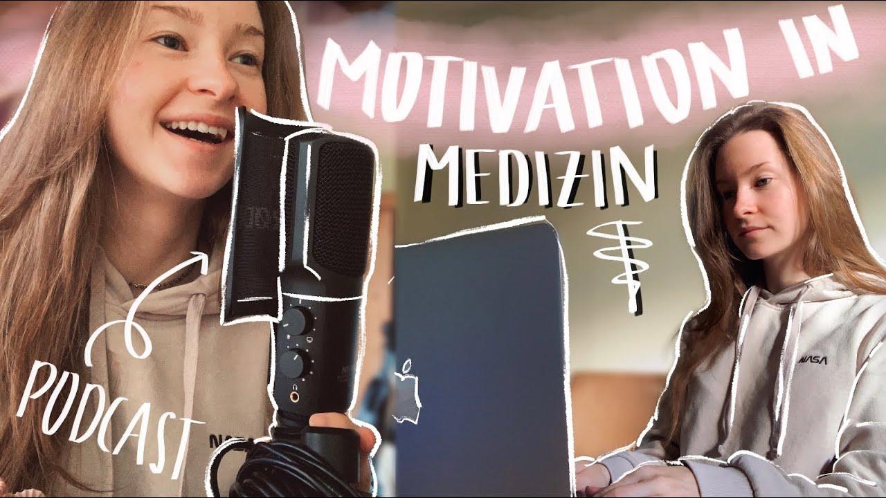 MED SCHOOL VLOG: So bleibe ich motiviert im Medizinstudium | Probeklausur | Podcast Aufnahme