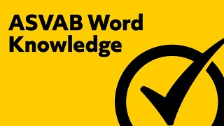 asvab word knowledge study guide
