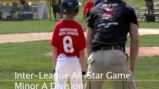 Acton Boxborough Youth Baseball All Star Game Minor A July 2011