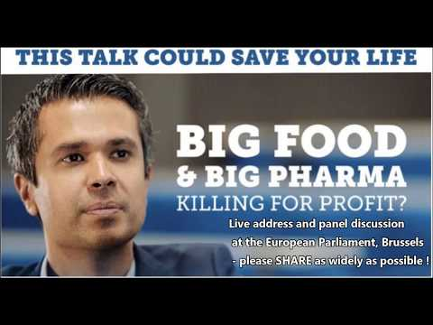Profit Over Population Health - At The European Parliament ! #LCHF Aseem Malhotra