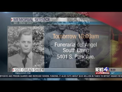 WWII veteran's remains finally return home