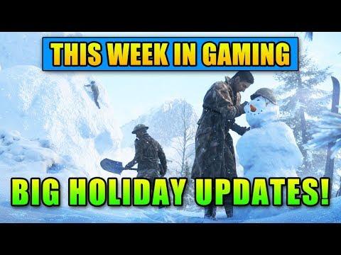 BIG Holiday Updates - This Week in Gaming | FPS News