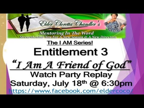 The I AM Series, Entitlement 3 -