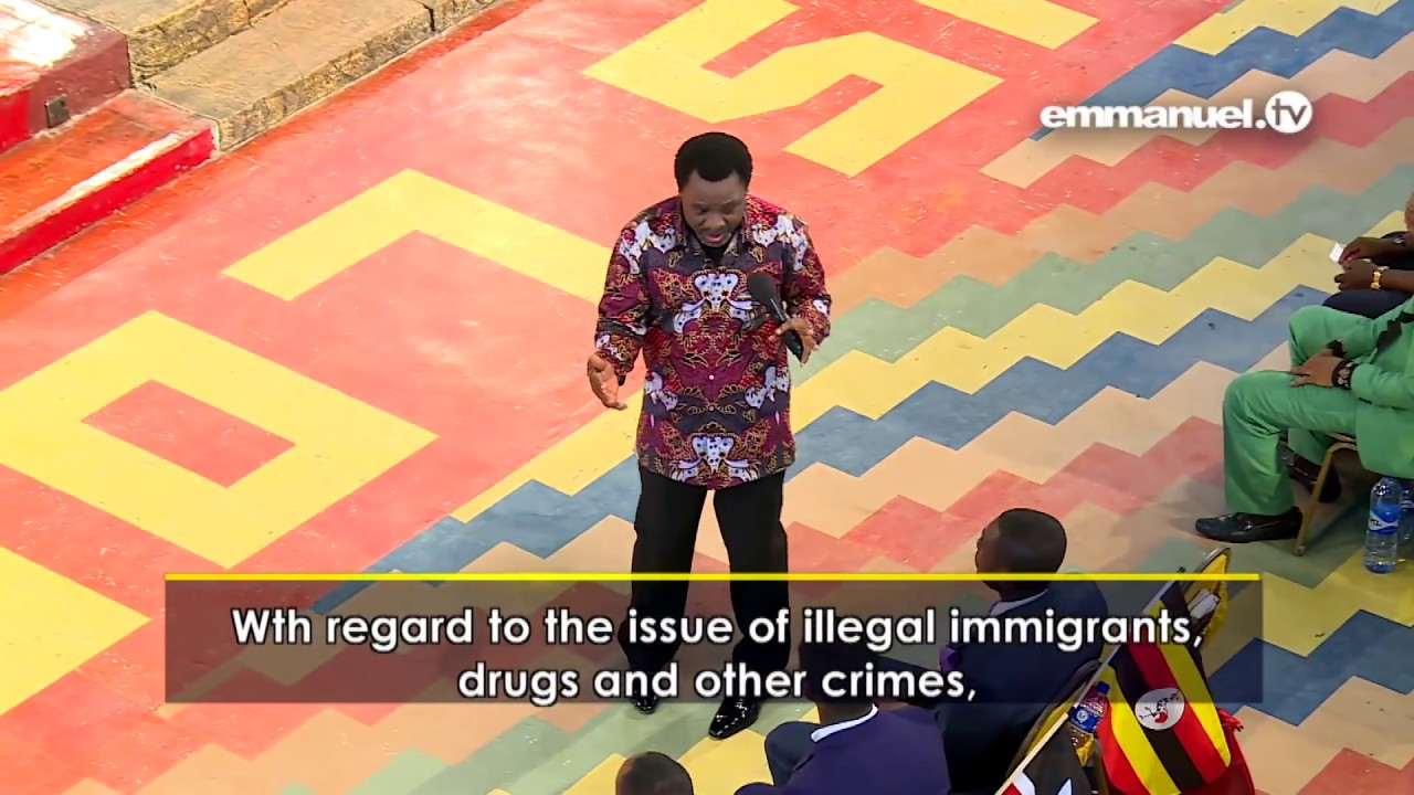 Download TB Joshua 2018 (February 08, 2018) - Important Message For ALL AFRICANS By TB Joshua 2018
