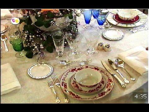 Navidad c mo poner la mesa para las fiestas youtube - Como poner la mesa en navidad ...