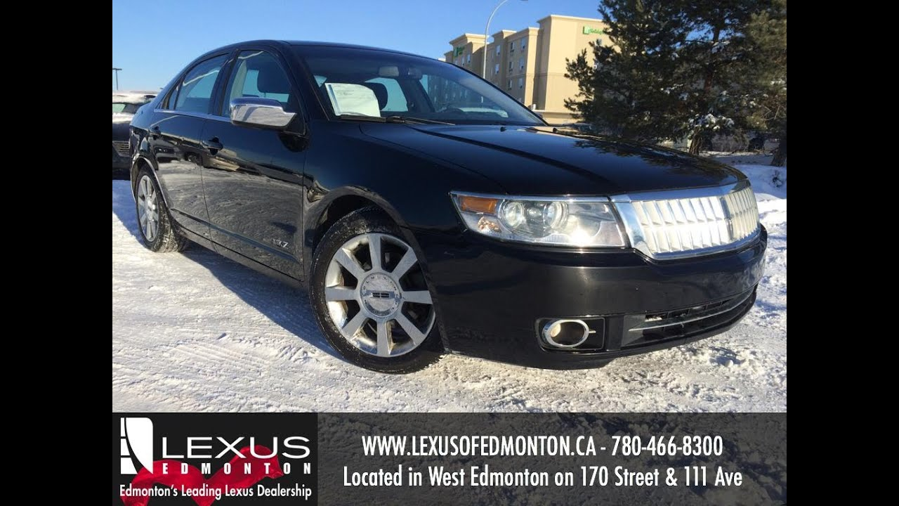 Used Black 2007 Lincoln MKZ AWD Review | Lloydminster Alberta - YouTube