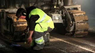Highway A9 resurfacing
