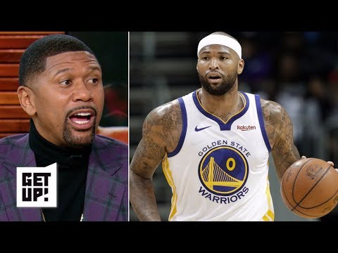 NBA film breakdown: Warriors are using Boogie Cousins in unique ways – Jalen Rose | Get Up! thumbnail