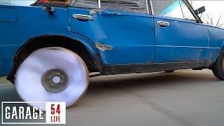 Колесо Из Бумаги - Как Это Снимали? Гараж 54 Life И Дрифт Приора