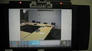 Demo of the Aastra ViPr Video Conferencing Unit