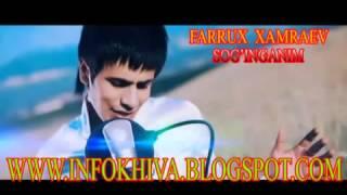 Farrux Xamraev   Sog'inganim klip 2014