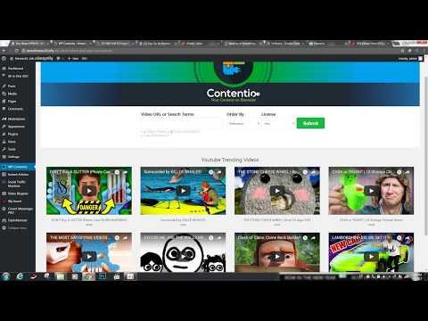 វិធីយកអត្ថបទចេញពី youtube ដាក់ក្នុង Website ( plugin to create article for any website)