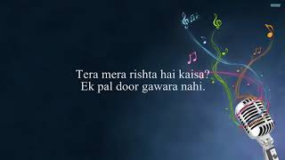 Tum Hi Ho Hindi Karaoke Song With Lyrics