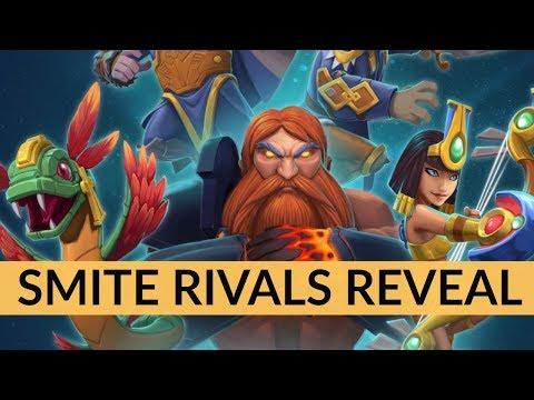 SMITE Rivals reveal trailer