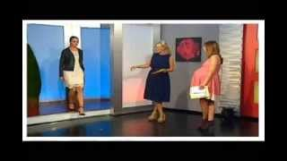 Heavily pregnant irish presenter Clare - Extended video