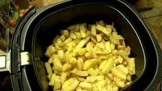 Картофель фри без масла в мультипечи от PHILIPS//French fries without oil in multi furnace