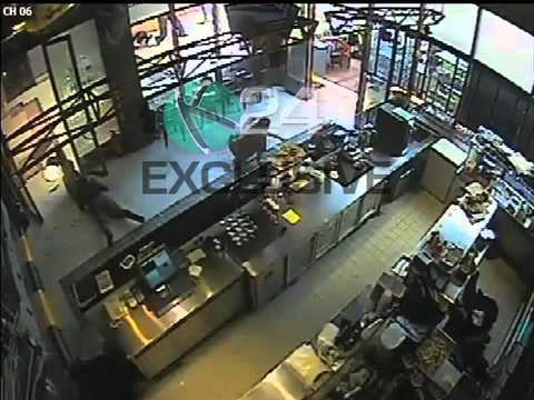 Exclusive CCTV Footage Of The Westgate Attack