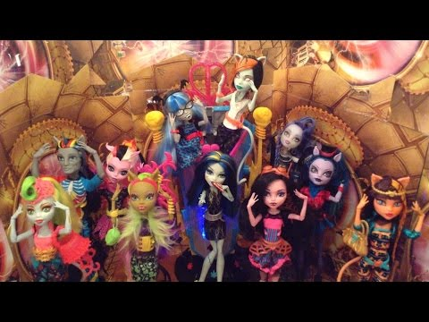 Monster High Freaky Fusion Music Video: