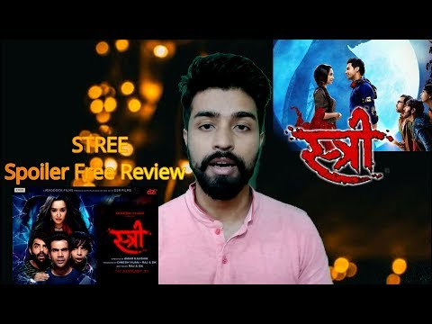 Stree Movie Review | Rajkumar Rao, Shraddha Kapoor | Stree Spoiler Free