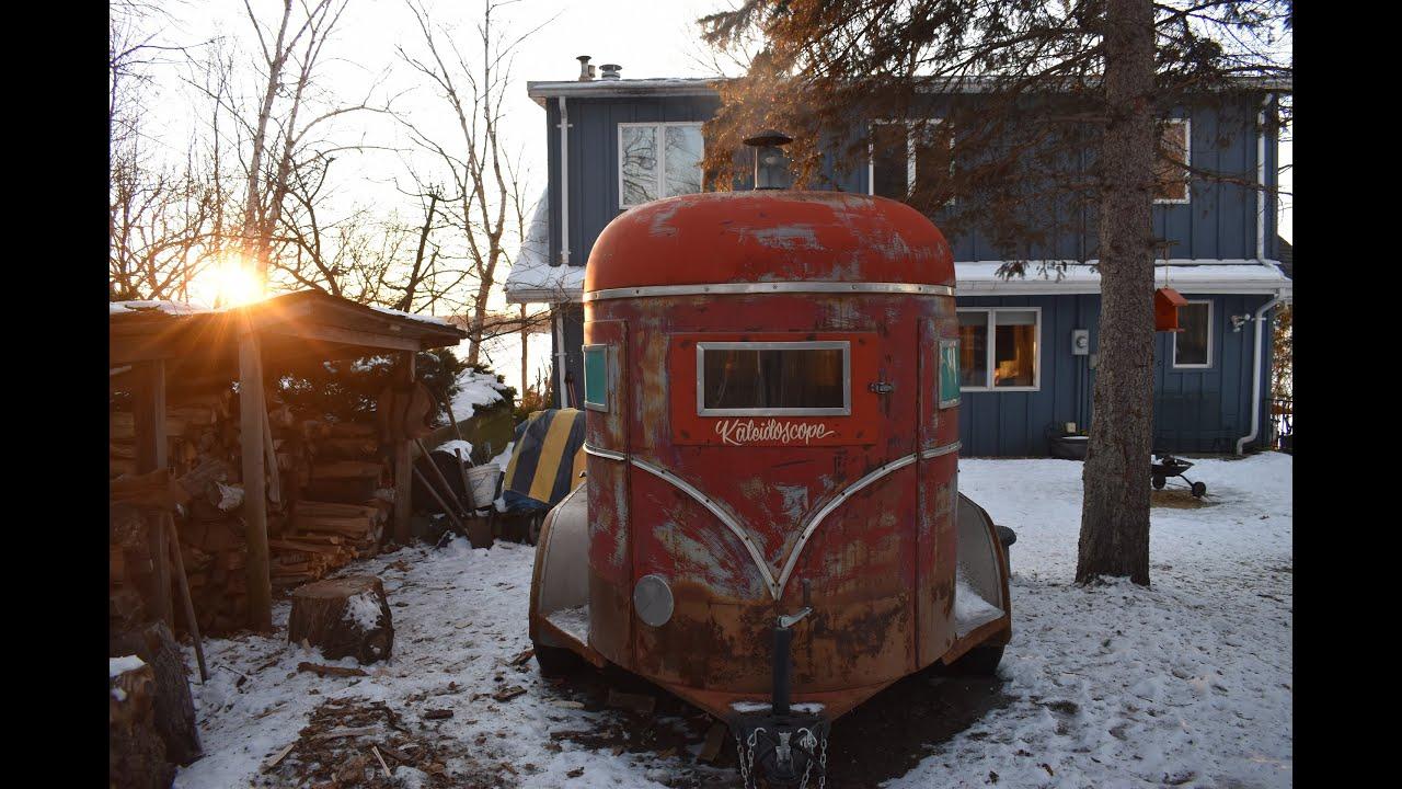 video Mobile Horse Trailer Sauna in Minnesota – Wauna Sauna