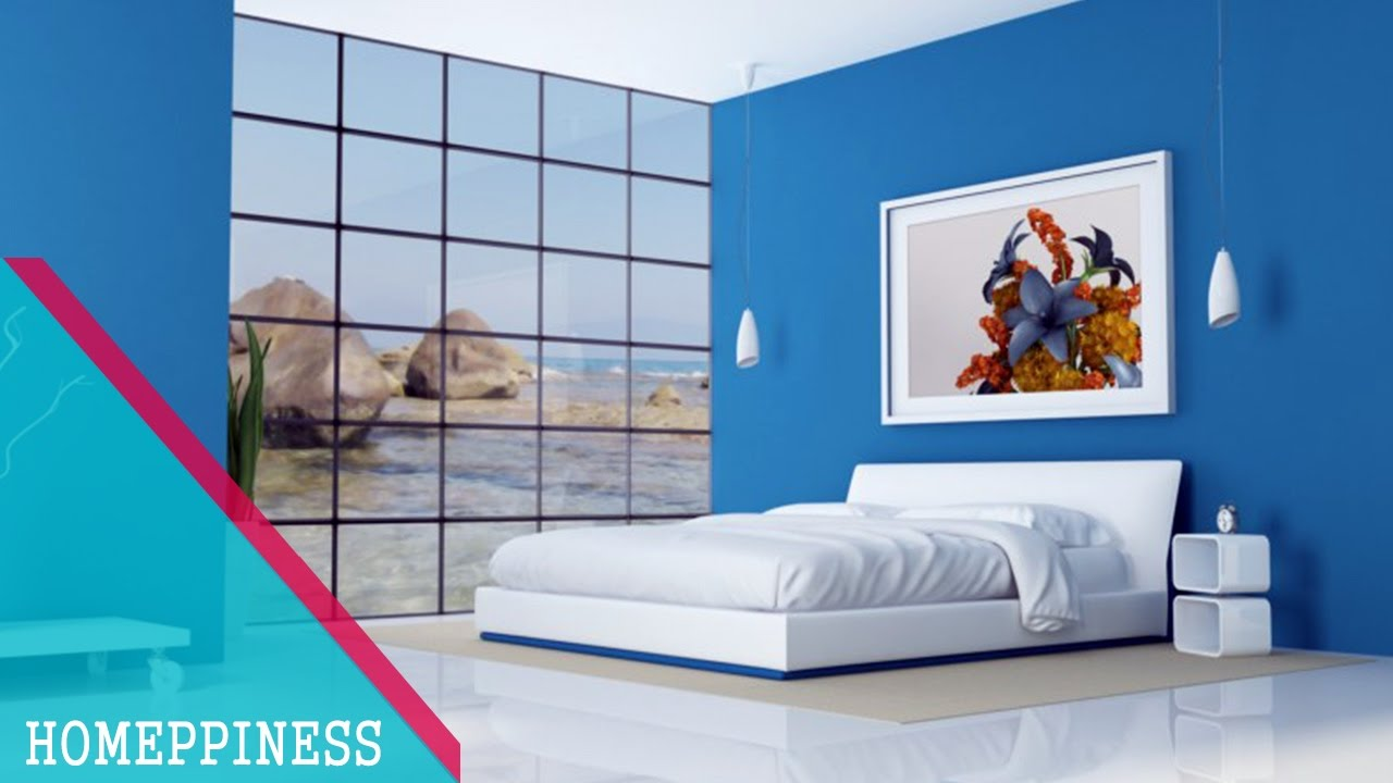 30 Beautiful Blue Rooms Ideas Paint Color For Master Bedroom