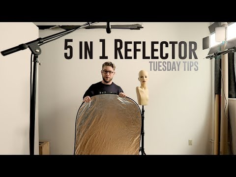 Tuesday Tips - 5 in 1 Reflector