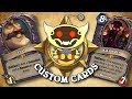 TOP CUSTOM CARDS OF THE WEEK #34 | Card Review | Hearthstone