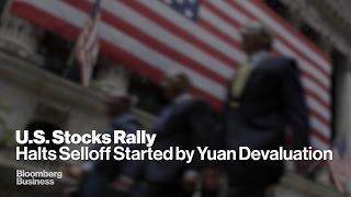 Europe Stocks Rebound as Chinese Selloff Halts