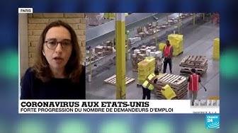 Coronavirus aux États-Unis : Les destructions d'emploi s'accélèrent dans le pays
