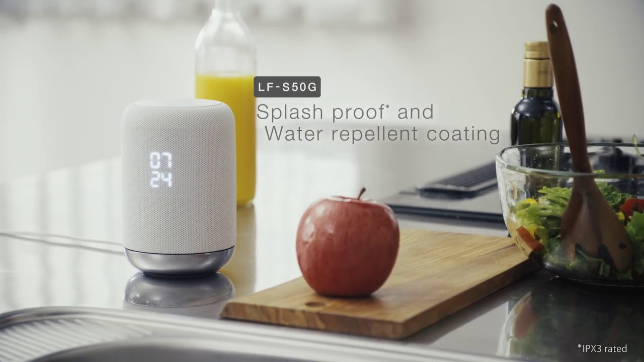 Sony LF S50G Smart Speaker with Google Assistant - Official Product Introduction