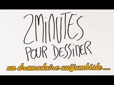 2 Minutes Pour Dessiner Un Dromadaire Unijambiste Jouant