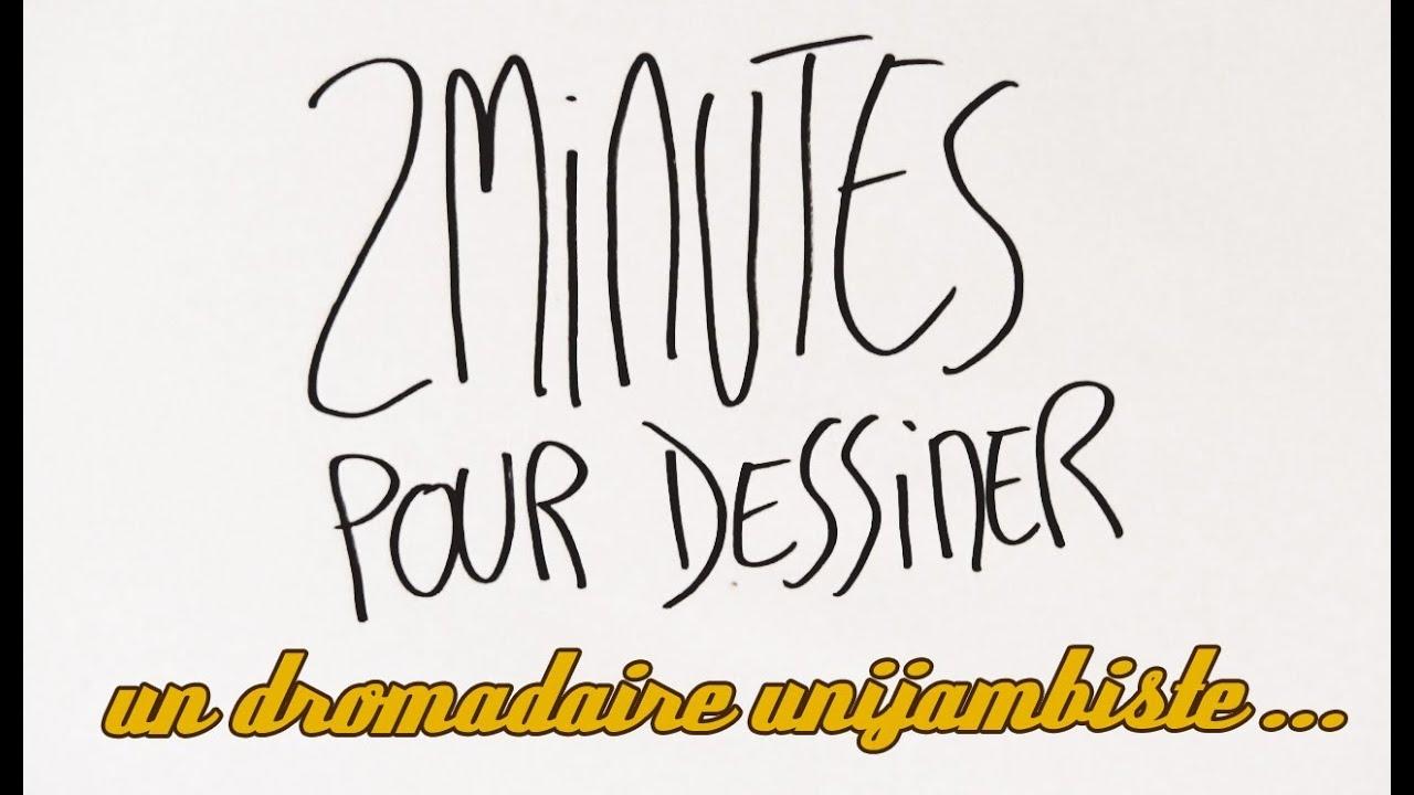 2 Minutes Pour Dessiner Un Dromadaire Unijambiste Jouant De L Accordéon