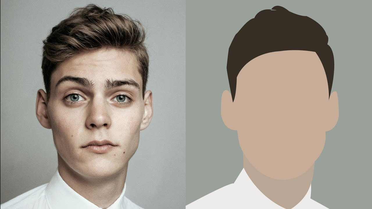 how to draw an avatar of yourself