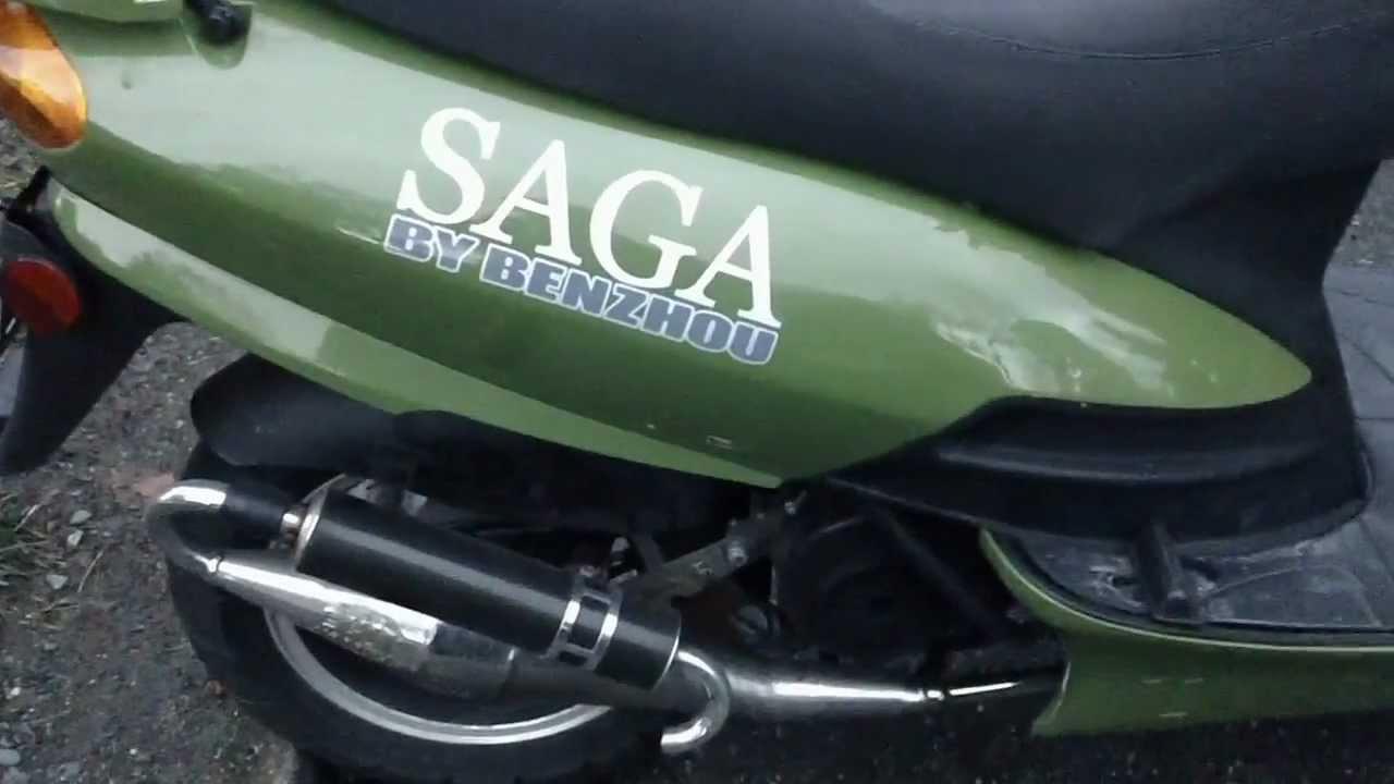 Saga Benzhou 50cc GY6 QMB139 Modifications