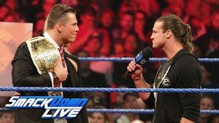 Dolph Ziggler unterbricht The Miz und setzt bei No Mercy seine Karriere aufs Spiel: SmackDown LIVE