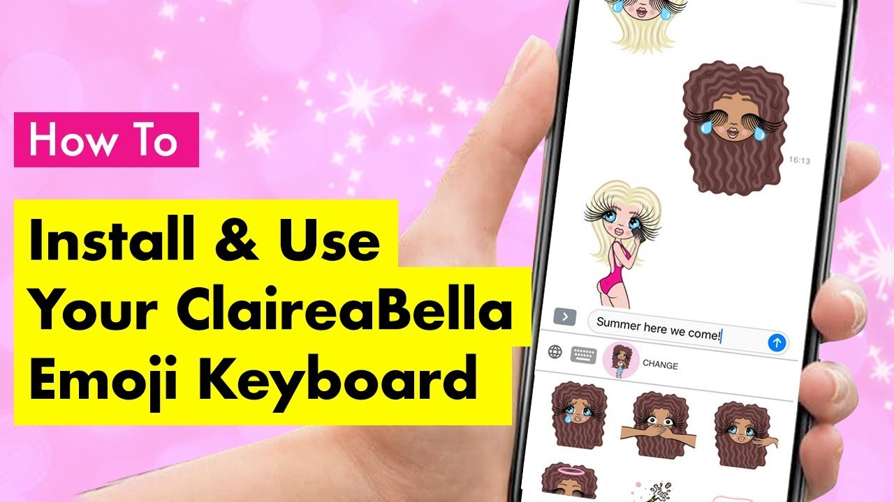 ClaireaBella APP - The ClaireaBella Keyboard