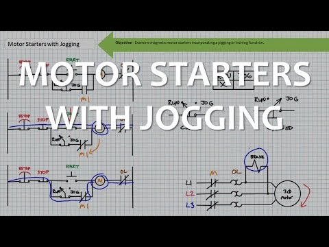 Motor Starters with Jogging (Full Lecture)