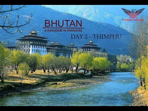 Thimphu city tour, Bhutan - January 2017
